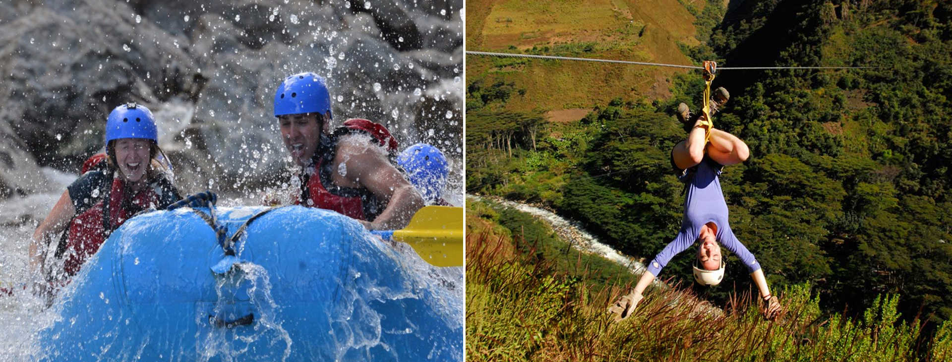 Inka Jungle Trek Zip Line Rafting 4 days - Inka Jungle Treks