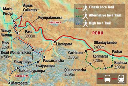 traditional inca trail