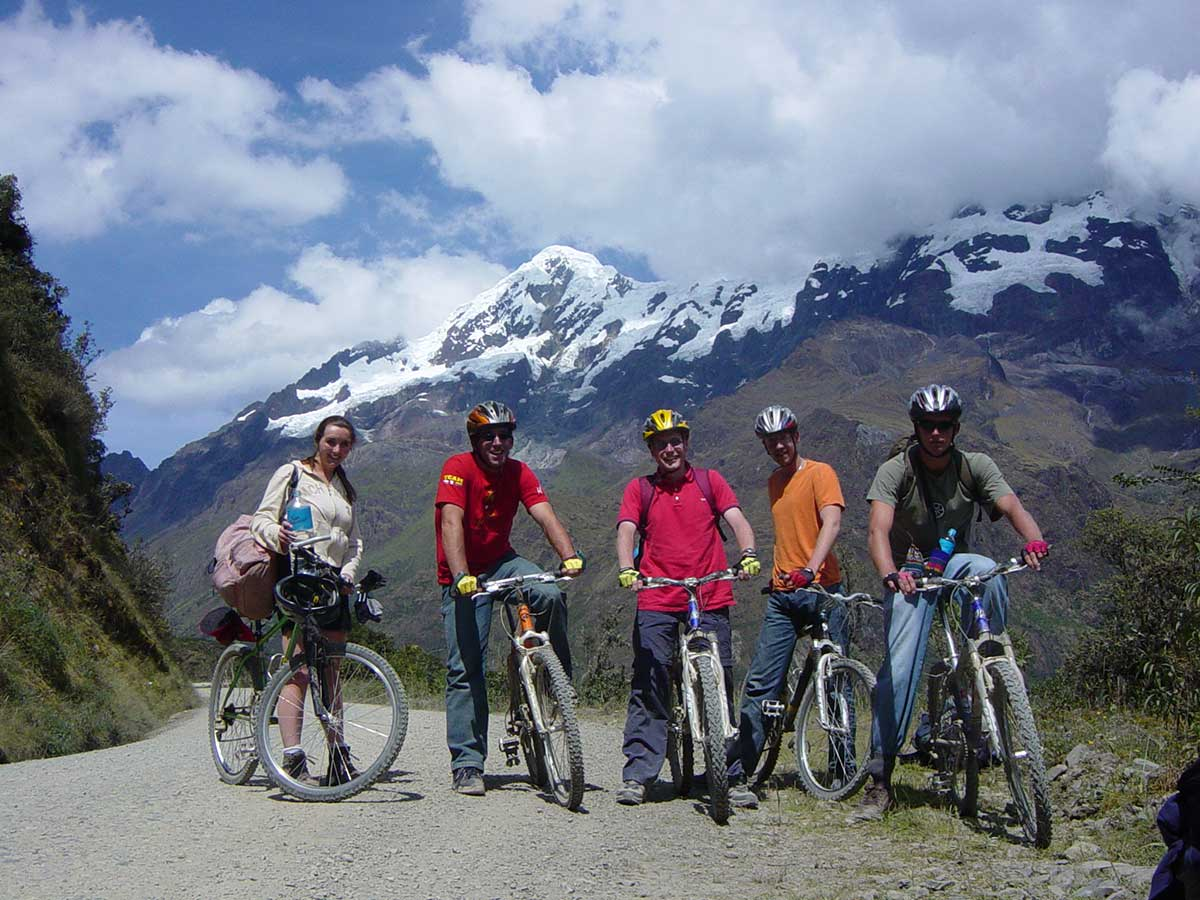 inka jungle trek to machu picchu in this way we will appreciate pictures que and attractive as chincheros and the Sacred Valley of the Incas -salkantay trek a machupicchu - lares trek a machupicchu
