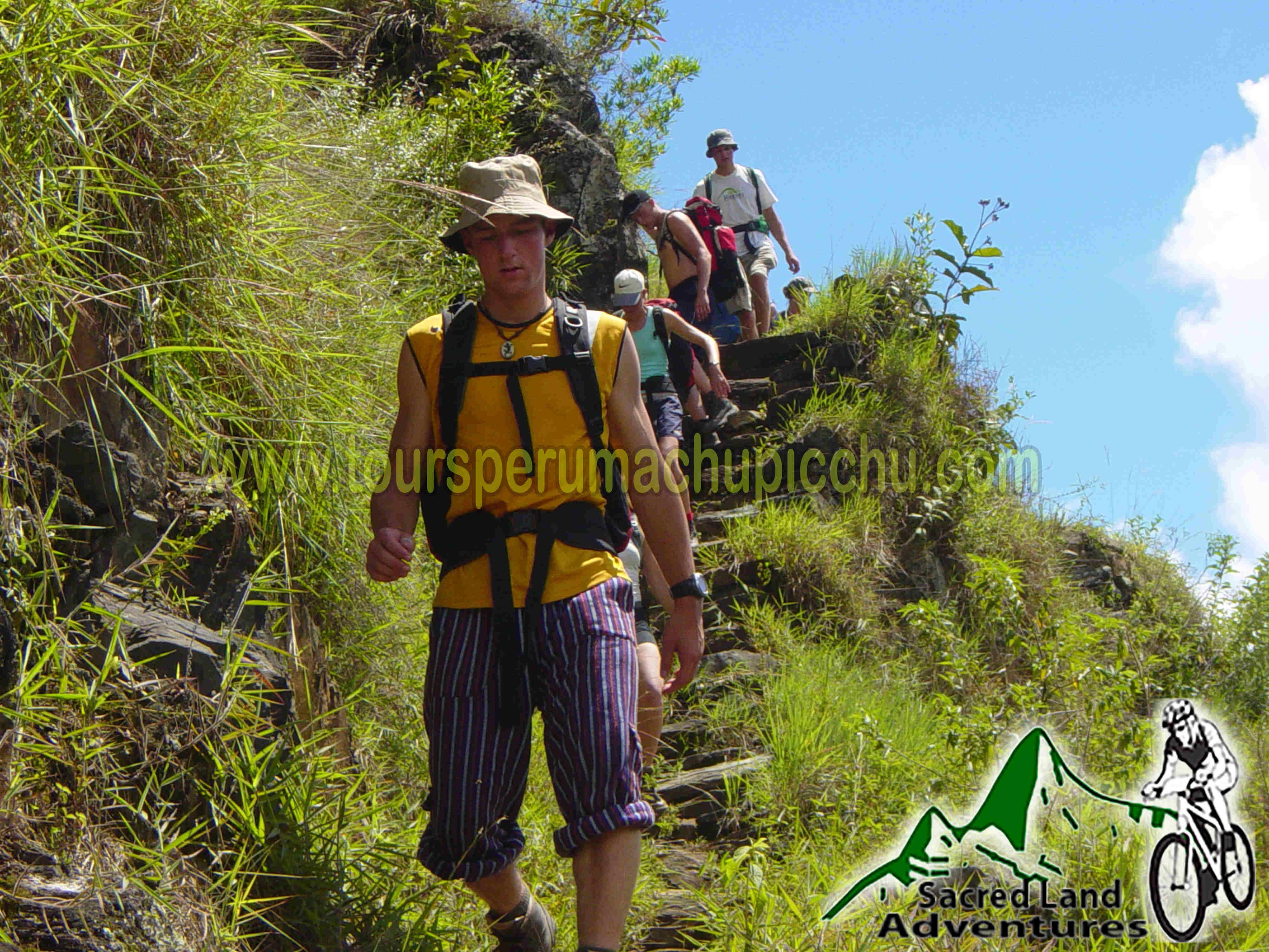 inka jungle trek machu picchu peru